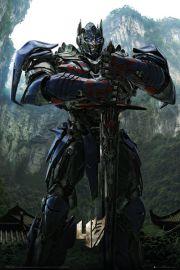 Transformers 4 Wiek zagłady Optimus Prime - plakat