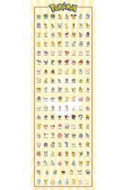 Wszystkie Pokemony Kanto 151 - plakat