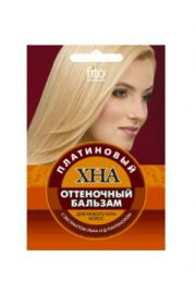 Odżywka koloryzująca do włosów HENNA - platyna FIT Fitocosmetic