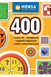 400 test�w IQ �amig��wek zagadek logicznych zada� matematycznych