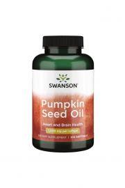 Swanson Pumpkin Seed Oil Olej z pestek dyni 1000mg 100 kaps.