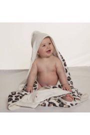Cuddledry Baby Ręcznik Panterka