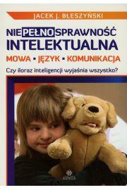 Niepełnosprawność intelektualna Mowa język komunikacja