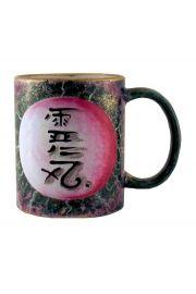 Kubek Reiki, malowany ręcznie