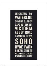 London Places - art print