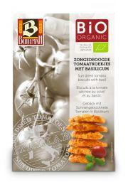 Ciasteczka Z Pomidorami I Bazylią Bio 75 G - Buiteman