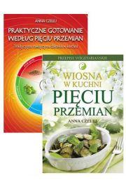 Zestaw 2 książek: Praktyczne gotowanie według Pięciu Przemian + Wiosna w kuchni Pięciu Przemian