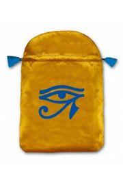 Satynowy woreczek Oko Horusa (na karty tarota)