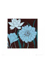 Brązowe Kwiaty - reprodukcja
