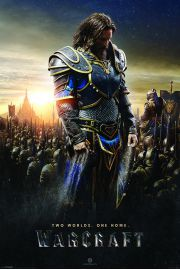 Warcraft Two Worlds, One Home - Lothar - plakat