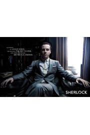 Sherlock Jim Moriarty - plakat