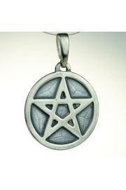 Pentagram pe�ny, srebro