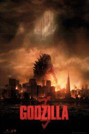 Godzilla One Sheet - plakat