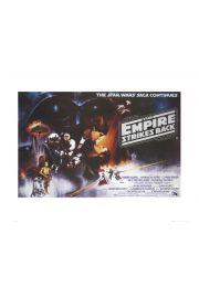 Gwiezdne Wojny Star Wars empire strikes back - reprodukcja
