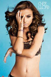 Cher Lloyd Camo Vest - plakat