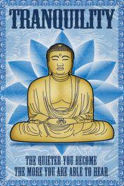 Budda - Spokój - plakat motywacyjny