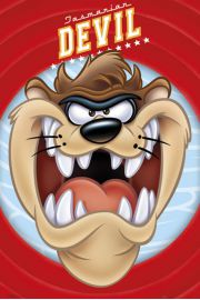 Diabeł Tasmański Looney Tunes Taz Face  - plakat