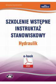 Szkolenie wstępne Instruktaż stanowiskowy Hydraulik