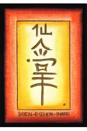 Chiński symbol Shien-Dschen-Chang