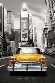 Nowy Jork - Taxi no 1 - plakat