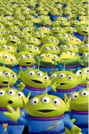 Toy Story 3 Obcy - plakat