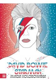 Magia kolorowania David Bowie Starman