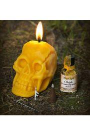 Rytuał i talizman na zdanie egzaminu z żółtą czaszką