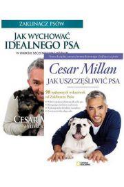 Zestaw 2 książek: Jak wychować idealnego psa + Jak uszczęśliwić psa - Cesar Millan, Melissa Ho Peltier