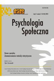 Psychologia Spo�eczna nr 2-3(14)/2010