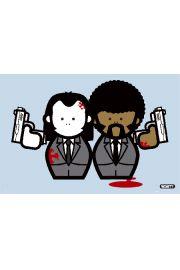 Gangstas - Pulp Fiction - Quentin Tarantino - plakat