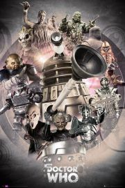 Doctor Who Enemies - plakat