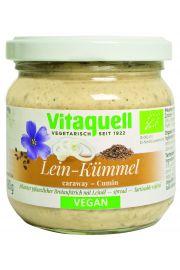 Pasta Kanapkowa Z Olejem Lnianym I Kminkiem Bio 180 G - Vitaquell