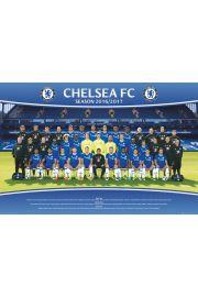 Chelsea Londyn Skład 2016/2017 - plakat