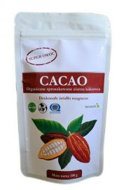 Kakao - sproszkowane ziarna kakaowca - 50 g