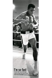 Muhammad Ali Trening Bokserski - plakat
