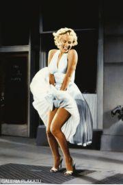 Marilyn Monroe S�omiany Wdowiec - plakat