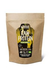 Białko Roślinne Z Młodym Jęczmieniem I Wanilią Raw Bezglutenowe Bio 450 G - Lifefood