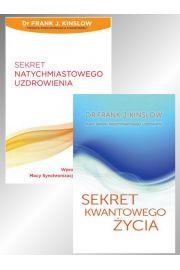 Zestaw 2 książek: Sekret natychmiastowego uzdrowienia + Sekret kwantowego życia