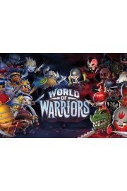 World Of Warriors Bohaterowie - plakat