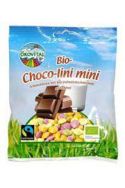 Eko drażetki czekoladowe w polewie 100g OEKOVITAL