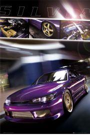 Nissan Silvia - plakat