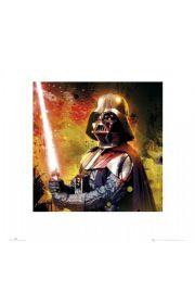 Gwiezdne Wojny Star Wars vader splatter - reprodukcja