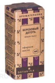 100% Naturalny olejek eteryczny Brzozowy dziegie� (Dziegie�) 10ml BT BOTANIKA