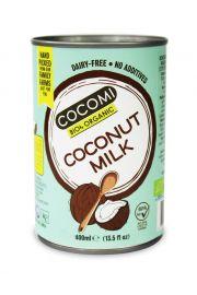 Mleczko Kokosowe W Puszce (17% Tłuszczu) Bio 400 Ml - Cocomi