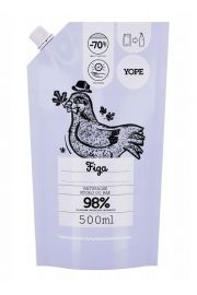 Mydło w płynie Figowe 500 ml Yope - opakowanie uzupełniające