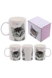 Kubek porcelanowy MEOW - Kotek
