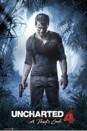 Uncharted 4 Kres Złodzieja - plakat