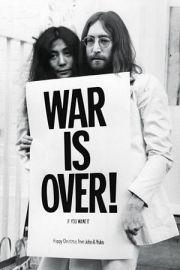 John Lennon War Is Over - plakat