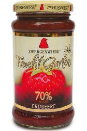 Mus Truskawkowy (70% Owoc�w) Bezglutenowy Bio 225 G - Zwergenwiese