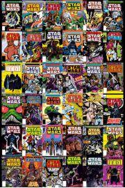 Star Wars Gwiezdne Wojny - Komiksy - retro plakat